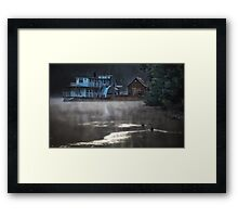 Echuca Icons Framed Print