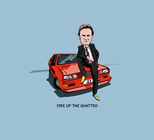 Ashes to Ashes Gene Hunt 'Fire Up the Quattro' Unisex T-Shirt