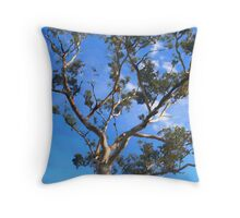 Gum tree Throw Pillow