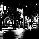 Night Silhouette by aaronb
