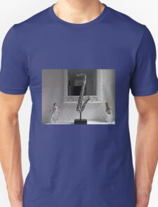 Sax in the Mirror Unisex T-Shirt