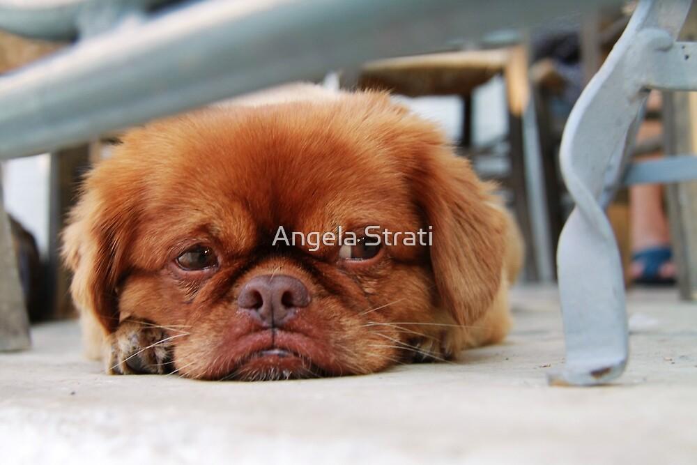 I'm sooo bored... by Angela Strati