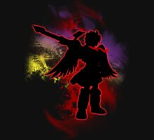 Super Smash Bros Red Dark Pit Silhouette Unisex T-Shirt