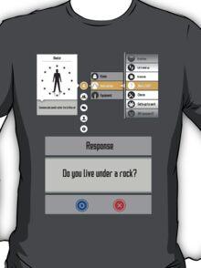 Sword Art Online Menu T-Shirt