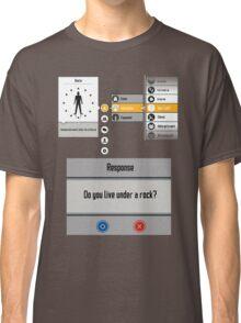 Sword Art Online Menu Classic T-Shirt