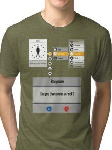 Sword Art Online Menu Tri-blend T-Shirt