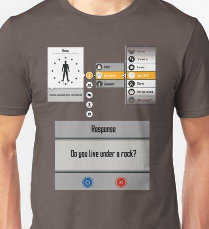 Sword Art Online Menu Unisex T-Shirt