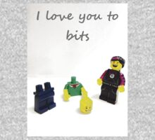Lego love you to bits Kids Tee