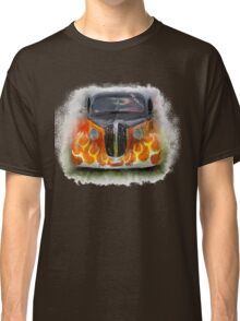 1938 Plymouth Coupe with yellow flames Classic T-Shirt