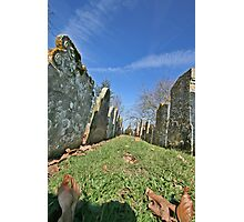 St.Mary's Churchyard, Wartling, East Sussex Photographic Print
