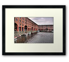 Day at the Dock - Liverpool Framed Print