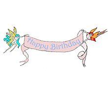 Faerie Happy Birthday by Jennifer Kilgour