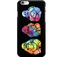 Buddhas: See no, Hear no, Speak no evil (vertical) iPhone Case/Skin