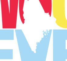 Maine Two Oh Seven Sticker