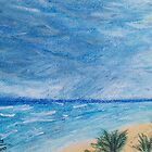 Sun, Sea, and Storm ~ Playa del Carmen in Pastels by MicRiddy