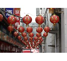 Lanterns of Beijing Photographic Print