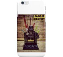 Game of clones iPhone Case/Skin