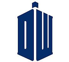 Doctor Who: Logo Model 1 Photographic Print