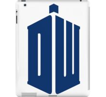 Doctor Who: Logo Model 1 iPad Case/Skin