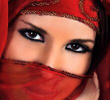 Behind the veil by Aleksandra Misic