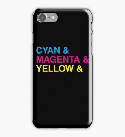 CMYK iPhone Case/Skin