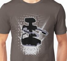 Super Smash Bros NES ROB Silhouette Unisex T-Shirt
