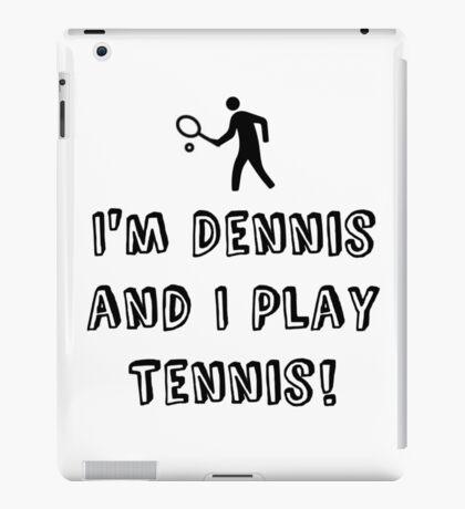 Dennis the Tennis iPad Case/Skin
