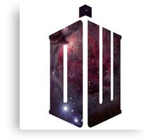 Doctor Who: Logo Model 2 Canvas Print
