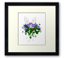 Holly, Ivy & Mistletoe Framed Print