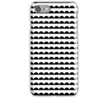 Scallop - Black and white minimal design print hipster urban city brooklyn socal san francisco bay portland  iPhone Case/Skin
