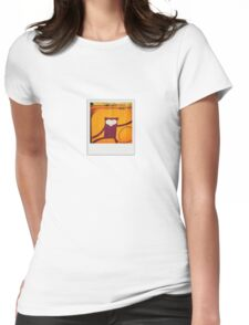 Monkey Luggage Womens Fitted T-Shirt