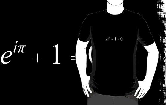 Euler's Identity (White) by bachelorshall