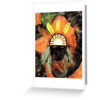 Guardian of Desert Springs Greeting Card