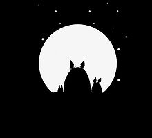 totoro night by teamxre