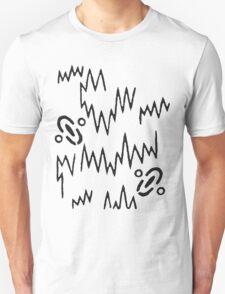 Born (Black) Unisex T-Shirt
