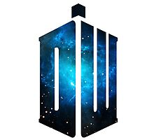 Doctor Who: Logo Model 3 Photographic Print