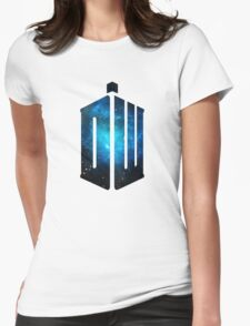 Doctor Who: Logo Model 3 Womens Fitted T-Shirt