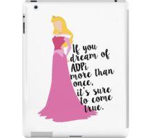ADPi - Sleeping Princess iPad Case/Skin
