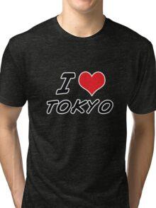 I love tokyo Tri-blend T-Shirt