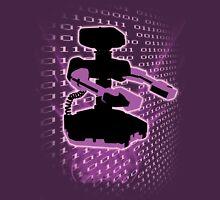 Super Smash Bros Purple ROB Silhouette Unisex T-Shirt