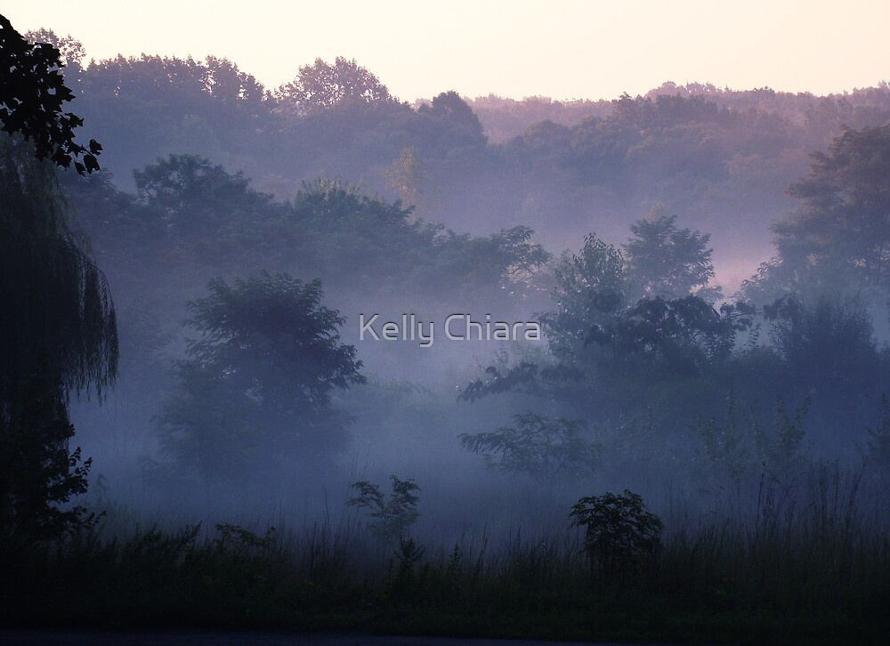Misty Kissed by Kelly Chiara