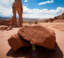 Delicate Arch 2 by Jacinthe Brault