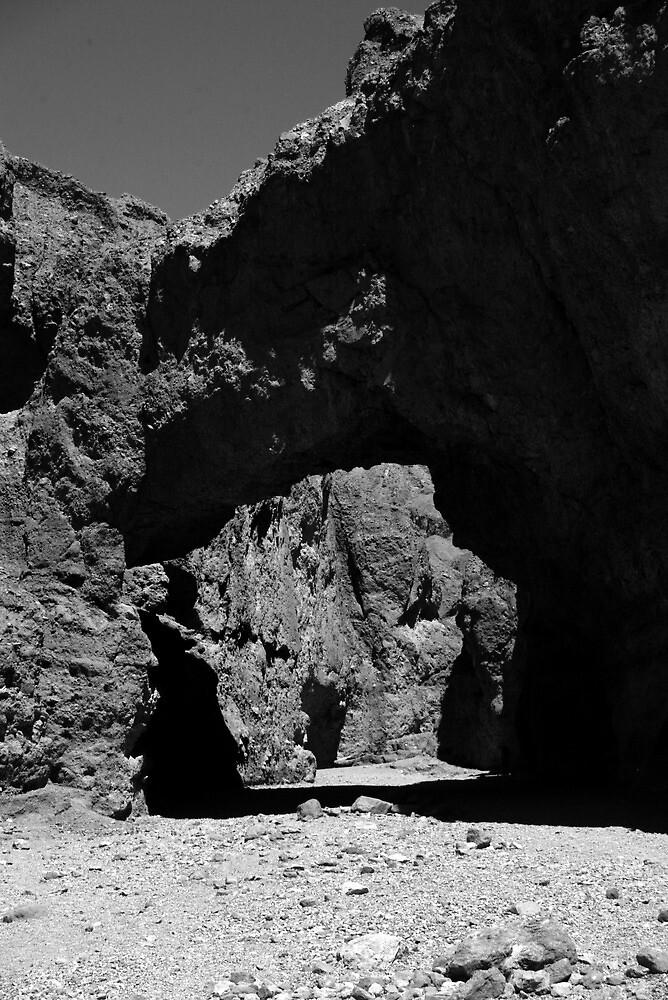 Death Valley arch by Harv Churchill
