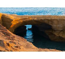 Sunset at Sunset Cliffs Photographic Print