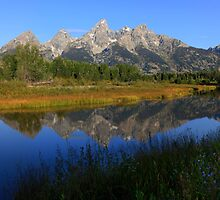 Teton Panorama by David Kocherhans