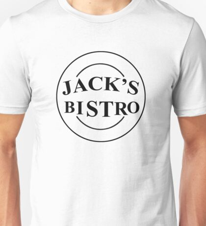 Three's Company - Jack's Bistro Unisex T-Shirt