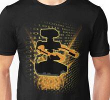 Super Smash Bros Yellow/Gold ROB Silhouette Unisex T-Shirt