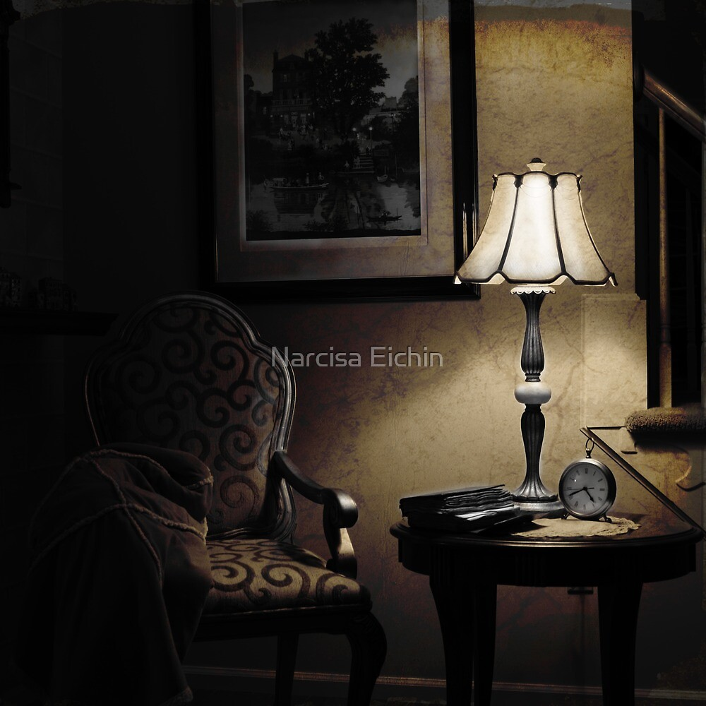 ~...forever empty chair...~ by Narcisa Eichin