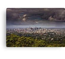 Stormy Brisbane Canvas Print