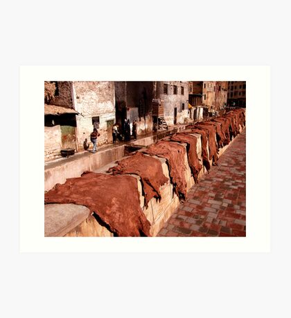 Tannery Row. Art Print